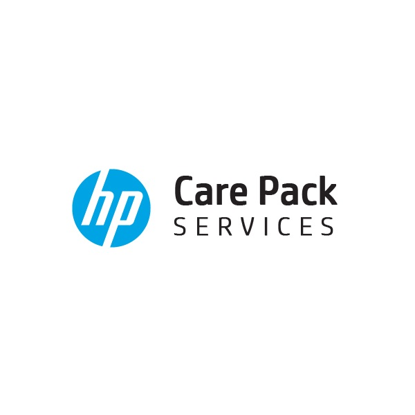 HP Care Pack - DMR & ADP, Travel Next Business Day Onsite, excl ext mon, HW Support, 3 year (UQ820E)