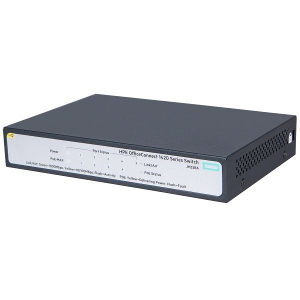 Коммутатор HPE 1420 5G PoE+ (32W) Switch (JH328A)