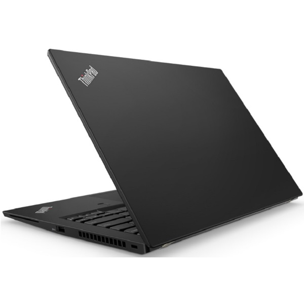 "Ноутбук Lenovo ThinkPad T480s 14"" FHD [20L7004NRT] Core i7-8550U/ 16GB/ 256GB SSD/ noODD/ WiFi/ BT/ 4G/ FPR/ SCR/ Win10Pro/ Business Black изображение 4"