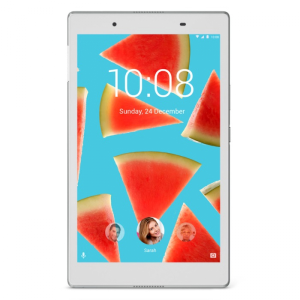 "Планшет Lenovo Tab 4 TB-7504X [ZA380087RU] 7"" HD (1280x720)/ Android 7.0/ MediaTek MT8735B/ 0.3Mp/ 2Mp/ 2GB/ 16GB/ 3G/ 4G/ WiFi/ BT/ GPS/ white изображение 1"
