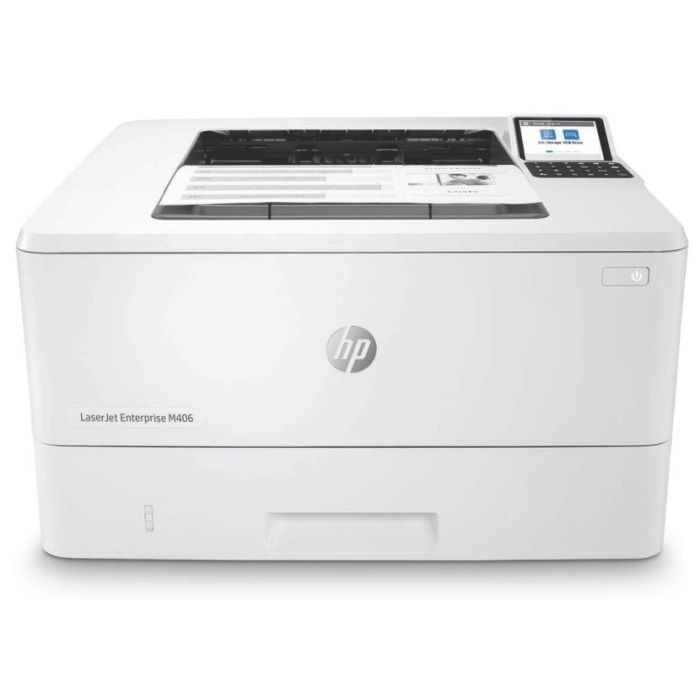 Принтер HP LaserJet Enterprise M406dn (3PZ15A)