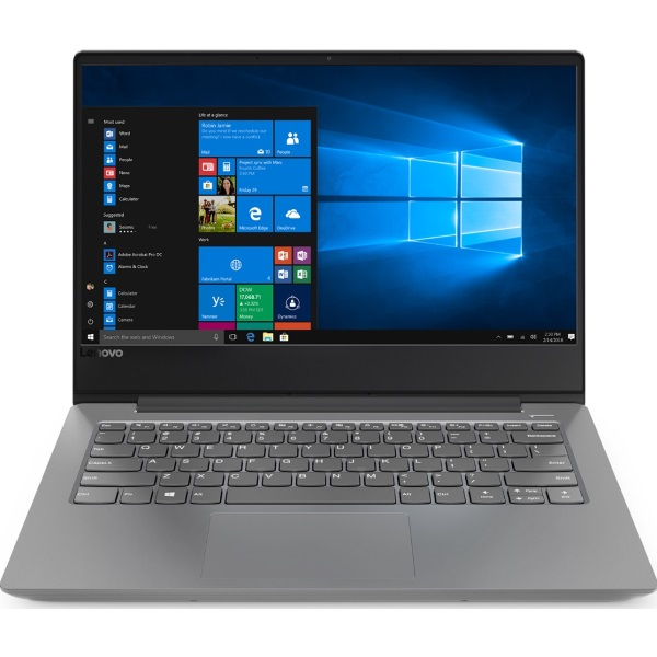 "Ноутбук Lenovo IdeaPad 330S-14IKB 14"" FHD [81F40142RU] Core i3-8130U/ 4GB/ 128GB/ noODD/ WiFi/ BT/ Win10/ Platinum Grey изображение 1"