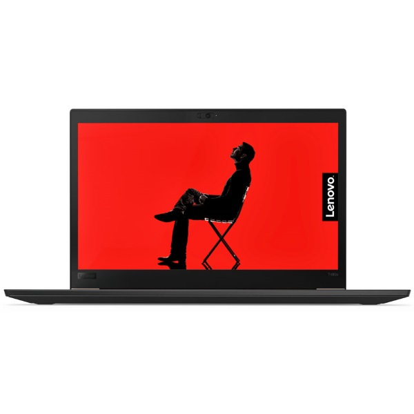 "Ноутбук Lenovo ThinkPad T480s 14"" FHD [20L7004NRT] Core i7-8550U/ 16GB/ 256GB SSD/ noODD/ WiFi/ BT/ 4G/ FPR/ SCR/ Win10Pro/ Business Black изображение 1"