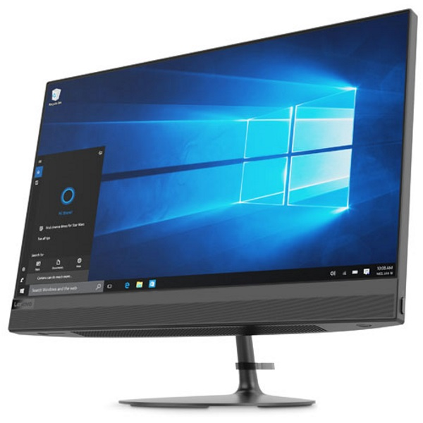 "Моноблок Lenovo IdeaCentre 520-22IKU 21.5"" FHD [F0D500BARK] Core i5-8250U/ 4GB/ 1TB/ DVD-RW/ WiFi/ BT/ Win10/ black изображение 2"