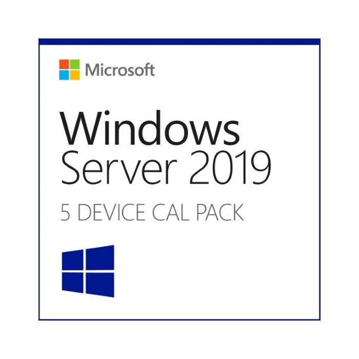 ОС Windows Server CAL 2019 EN MLP, 5 устр. (R18-05656)