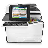 Цветное потоковое МФУ HP PageWide Enterprise Color Flow 586z (G1W41A#B19)