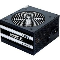 Блок питания ATX Chieftec PSU GPS-600A8,600W, Smart ser ATX2.3, 230V, Brown Box 12cm 80%+ Fan Active PFC 20+4, 8(4+4)p,8(6+2)p, 4xSATA, 2xMolex+Floppy