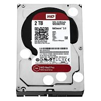 Western Digital HDD SATA-III 2000Gb Red PRO for NAS WD2002FFSX, 7200rpm, 128MB buffer