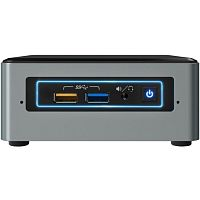 Неттоп INTEL BOXNUC6CAYH Celeron J3455/ DDR3L/ no HDD/ no DVD/ BT/ WiFi/ no OS/ Grey (BOXNUC6CAYH950804)