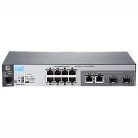 "Коммутатор HP 2530-8G Switch (8 x 10/ 100/ 1000 + 2 x SFP or 10/ 100/ 1000, Managed, L2, virtual stacking, 19"") (J9777A#ABB)"